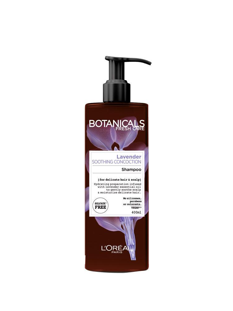 Sampon calmant Botanicals Fresh Care cu ulei de lavanda pentru par si scalp sensibil, 400 ml