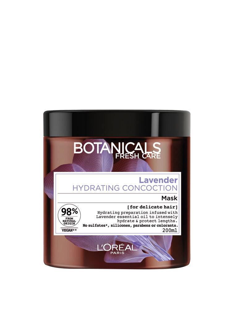 Masca hidratanta Botanicals Fresh Care cu ulei de lavanda pentru par fin, sensibilizat, 200 ml