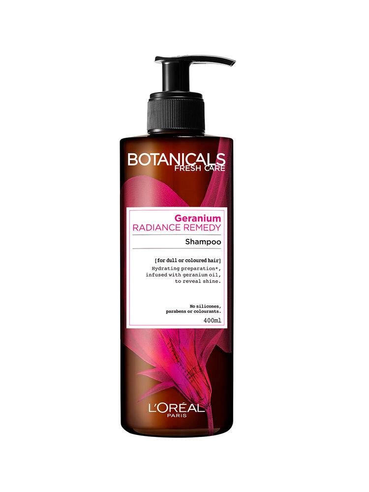 Sampon stralucire intensa Botanicals Fresh Care cu ulei de muscata pentru par vopsit sau tern, 400 ml