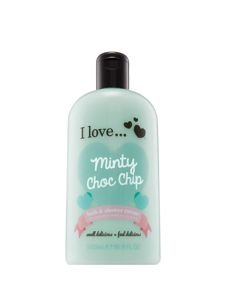 Gel de dus I Love Minty Choc Chip, 500 ml