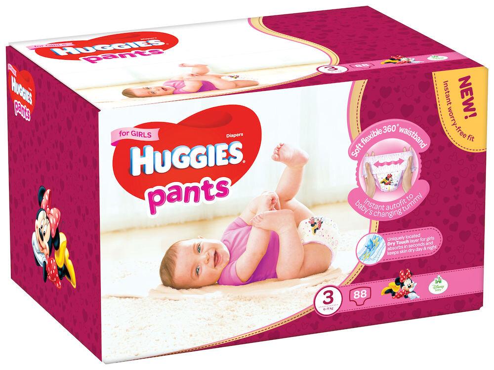 Imagine indisponibila pentru Scutece-chilotel Huggies Box girl 3, 6-11kg, 88 buc