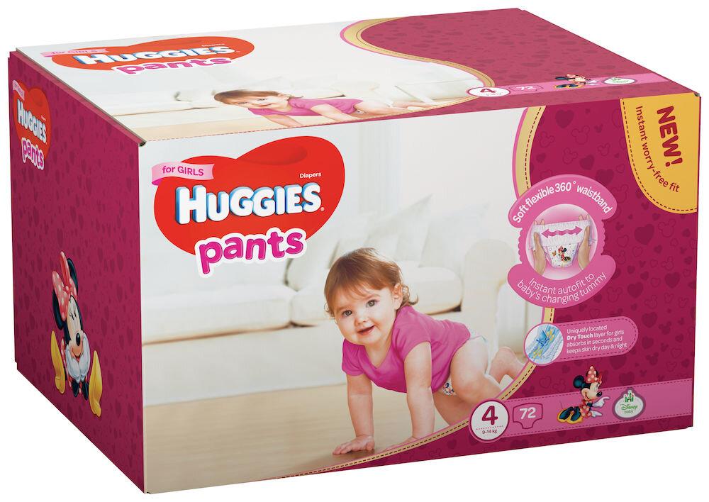 Imagine indisponibila pentru Scutece-chilotel Huggies Box girl 4, 9-14kg, 72 buc