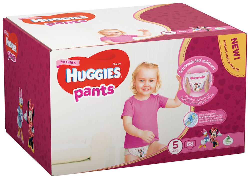 Imagine indisponibila pentru Scutece-chilotel Huggies Box girl 5, 12-17kg, 68 buc