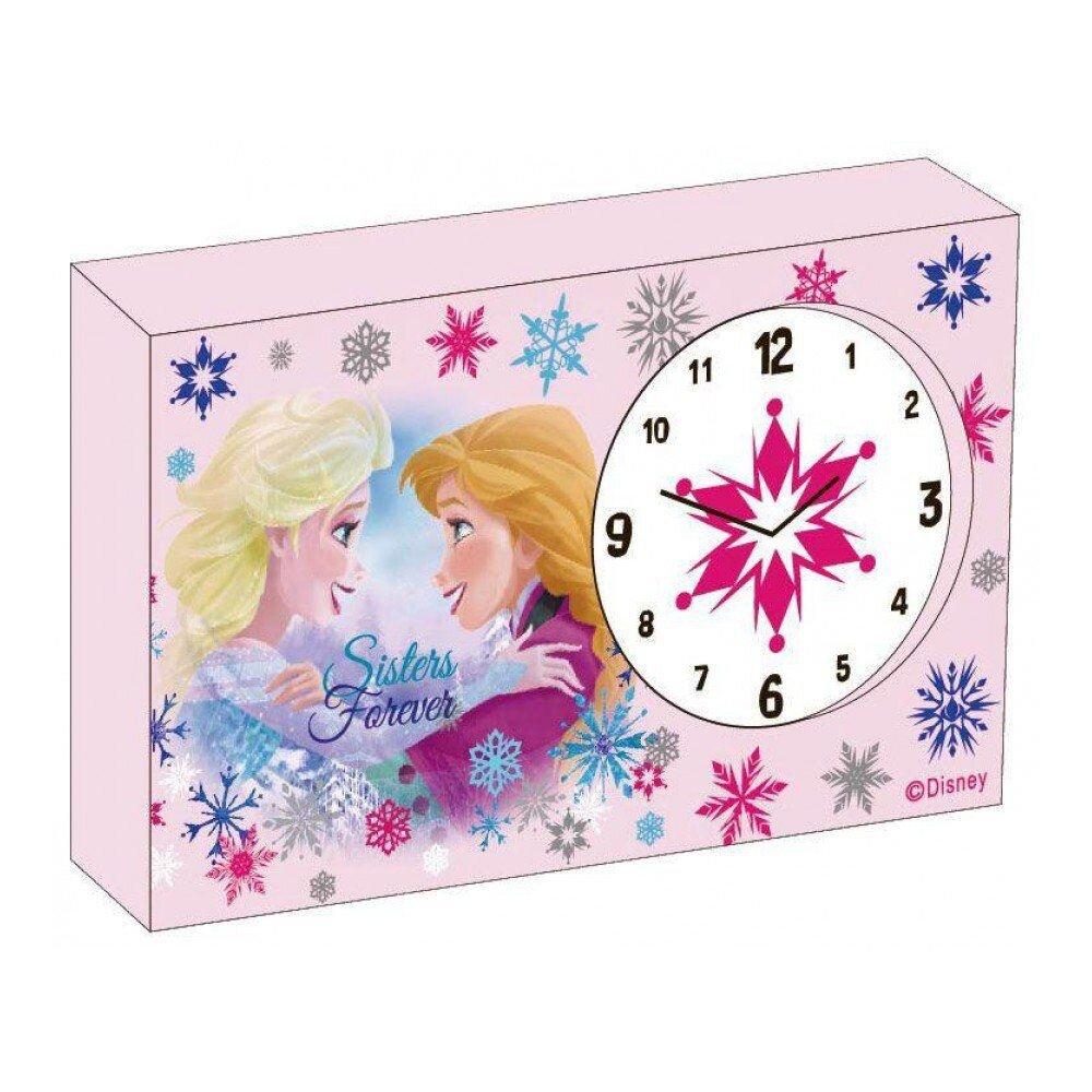Disney Frozen - Ceas de birou din lemn