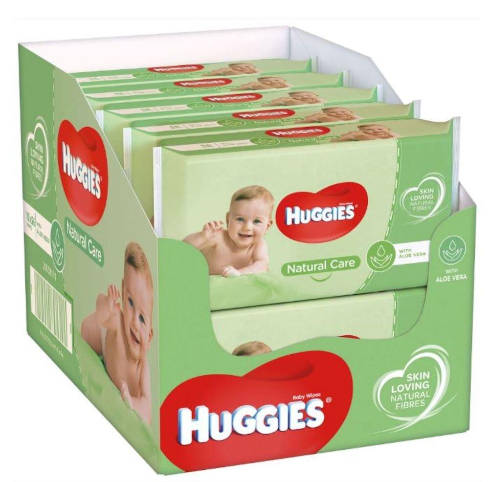 Imagine indisponibila pentru Set 10 x Servetele umede Huggies natural care, 56 buc