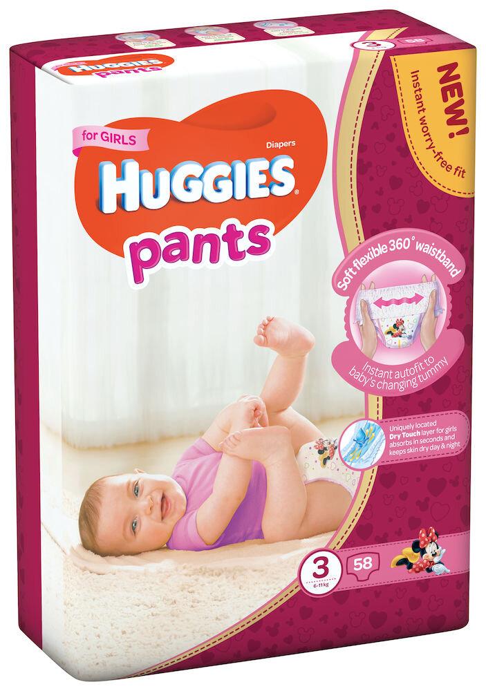 Imagine indisponibila pentru Scutece-chilotel Huggies Mega girl 3, 6-11kg, 58 buc