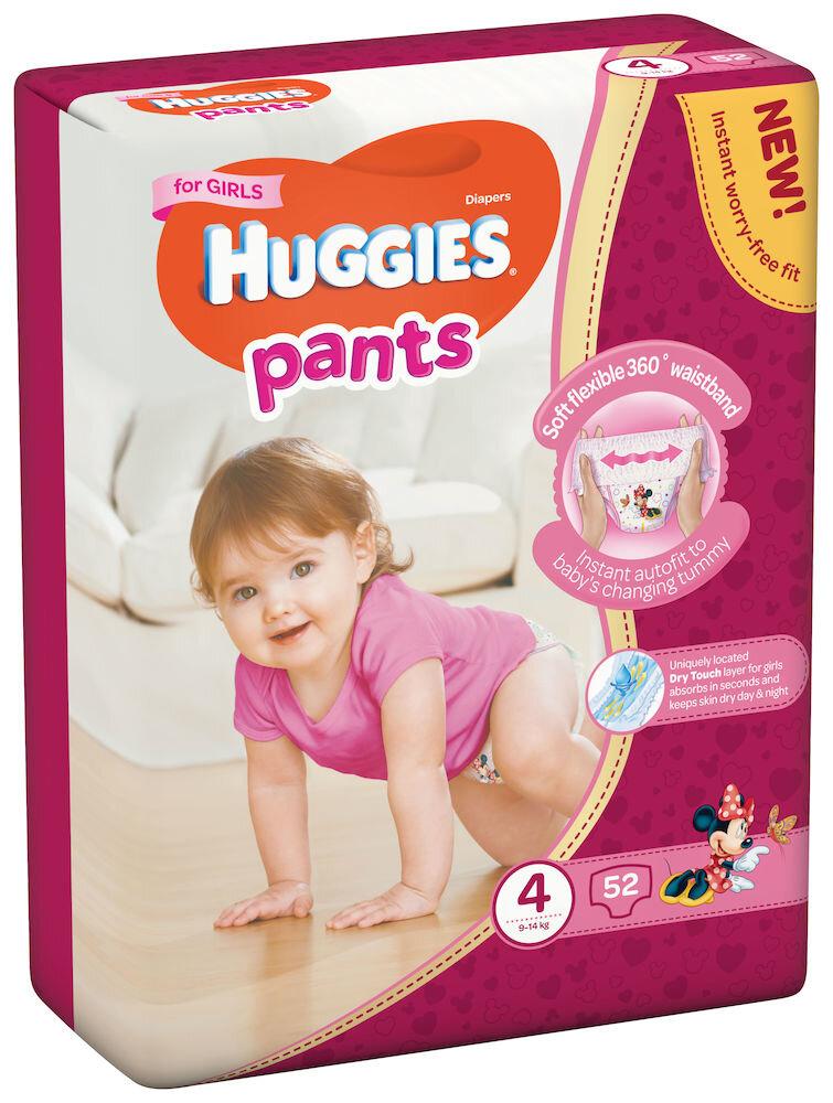 Imagine indisponibila pentru Scutece-chilotel Huggies Mega girl 4, 9-14kg, 52 buc
