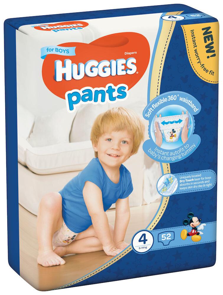 Imagine indisponibila pentru Scutece-chilotel Huggies Mega boy 4, 9-14kg, 52 buc