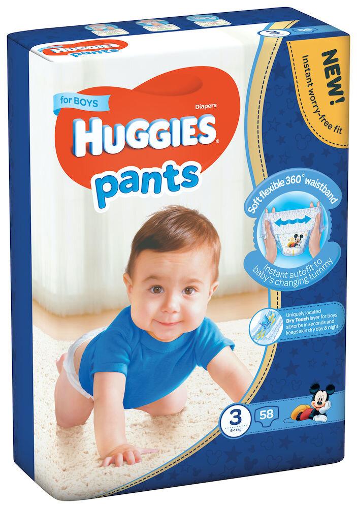 Imagine indisponibila pentru Scutece-chilotel Huggies Mega boy 3, 6-11kg, 58 buc