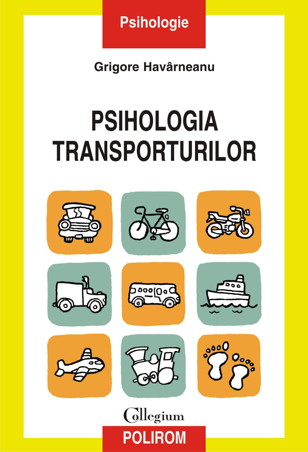 Psihologia transporturilor. O perspectiva psihosociala (eBook)