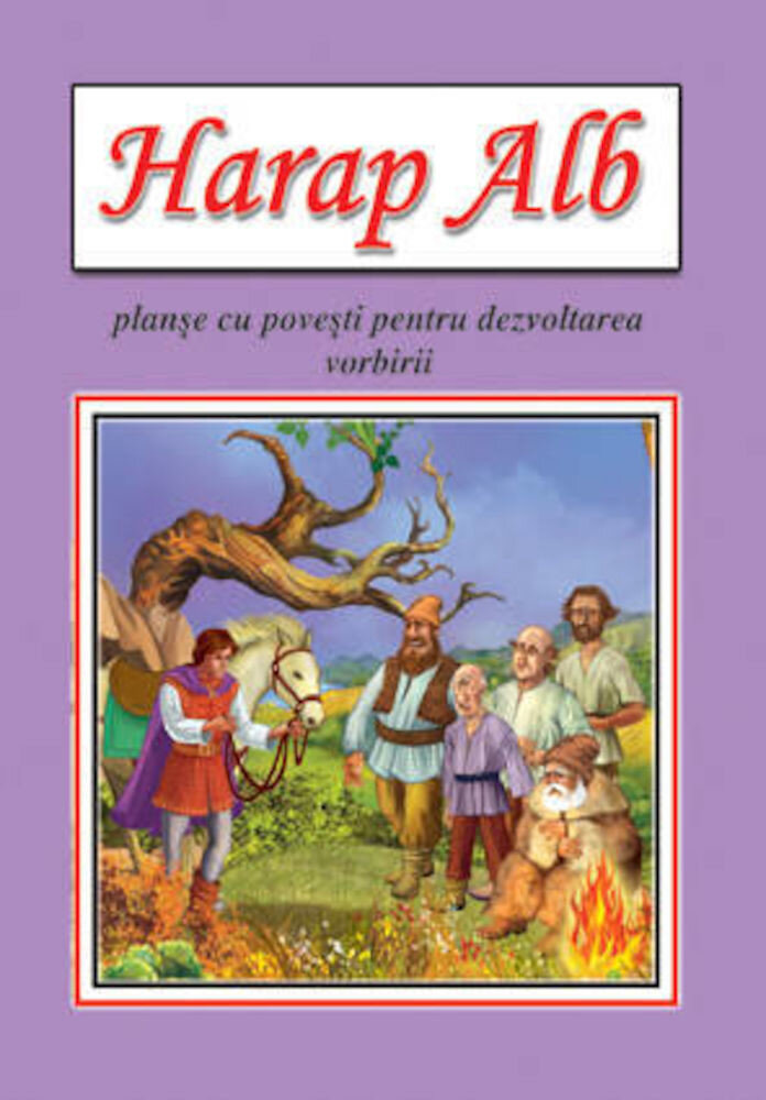 Harap alb - planse educative
