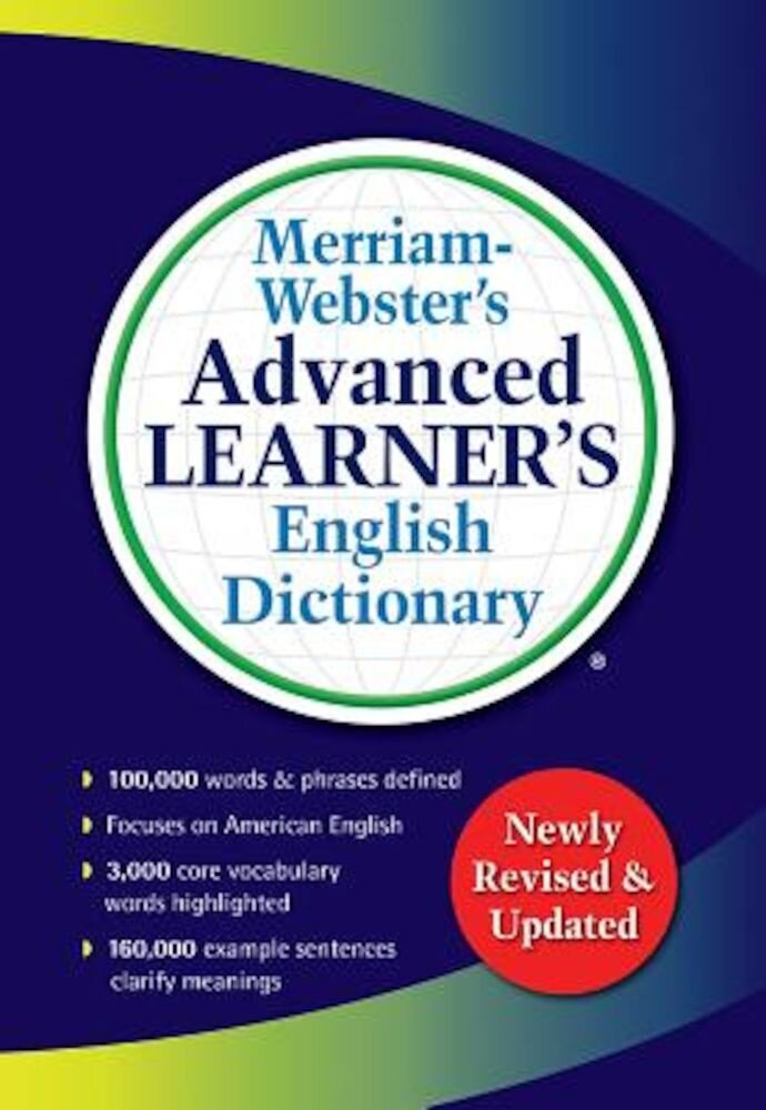 Merriam-Webster's Advanced Learner's English Dictionary, Paperback