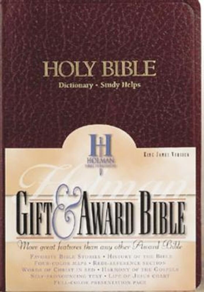 Gift & Award Bible-KJV, Hardcover