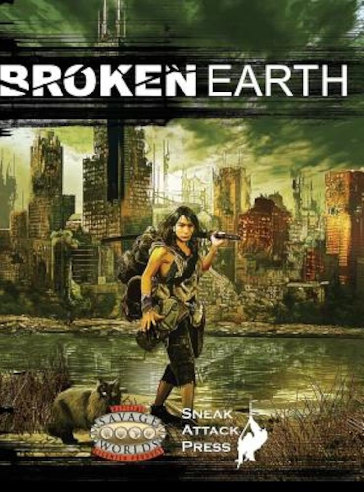 Broken Earth (Savage Worlds), Hardcover