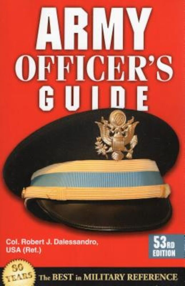 Army Officer's Guide, Paperback