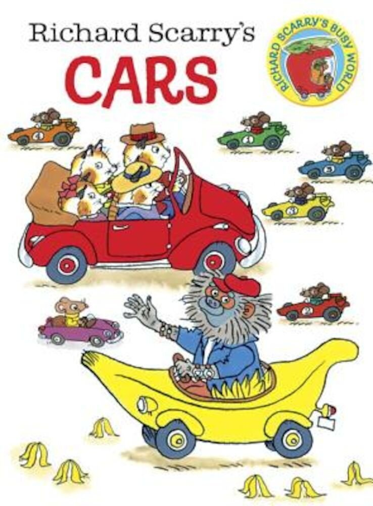 Richard Scarry's Cars, Hardcover