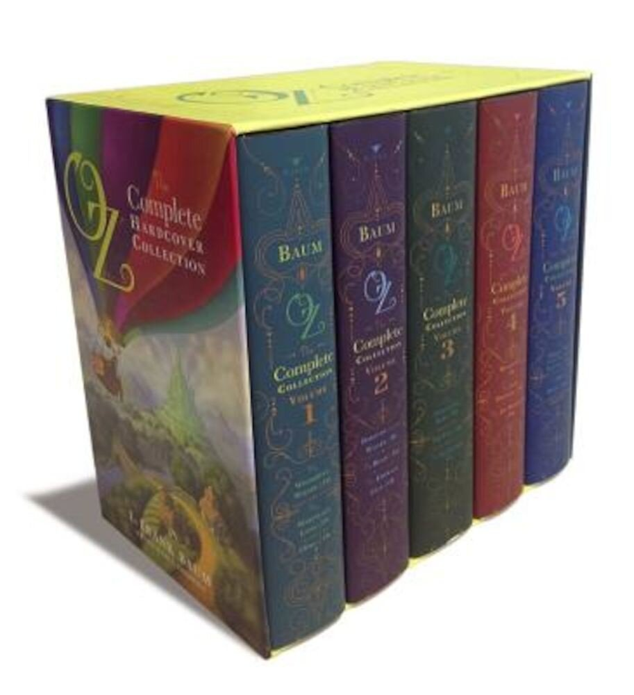 Oz: The Complete Hardcover Collection 5 Volume Set, Hardcover