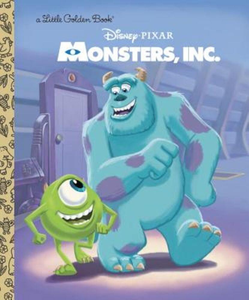 Monsters, Inc. Little Golden Book (Disney/Pixar Monsters, Inc.), Hardcover