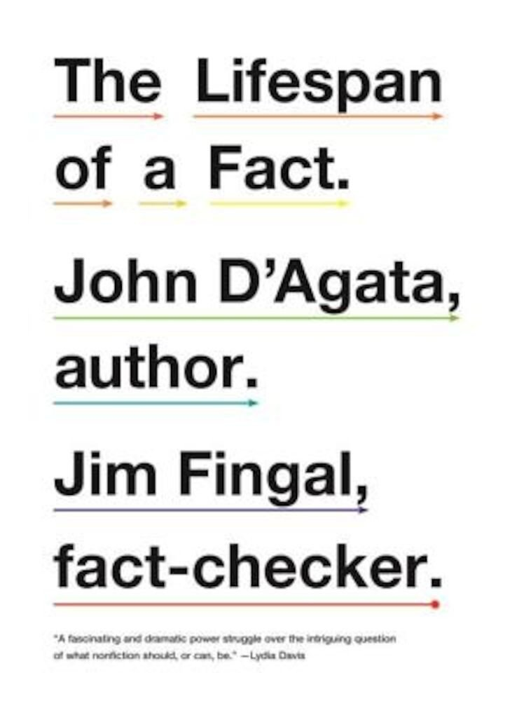 The Lifespan of a Fact, Paperback