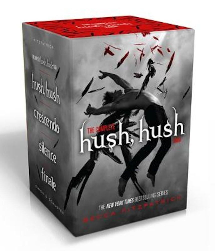 The Complete Hush, Hush Saga: Hush, Hush/Crescendo/Silence/Finale, Paperback