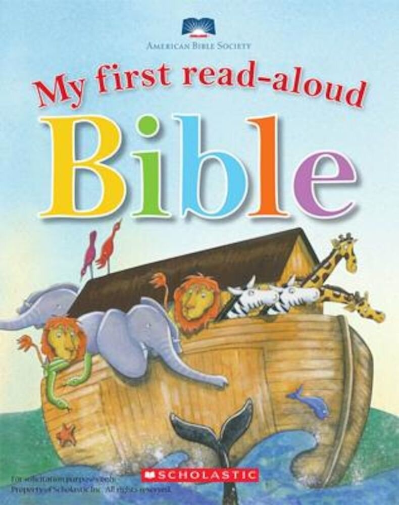 My First Read-Aloud Bible, Hardcover