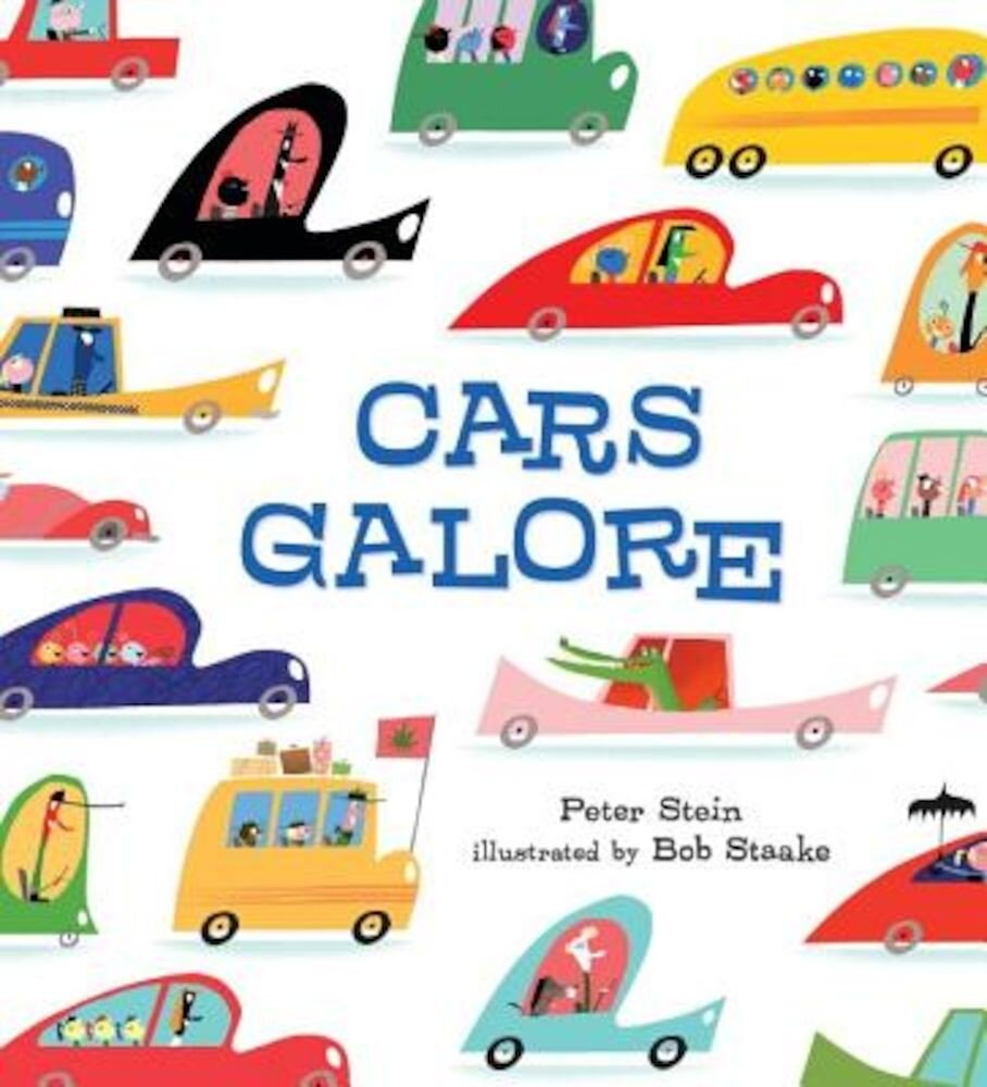 Cars Galore, Hardcover