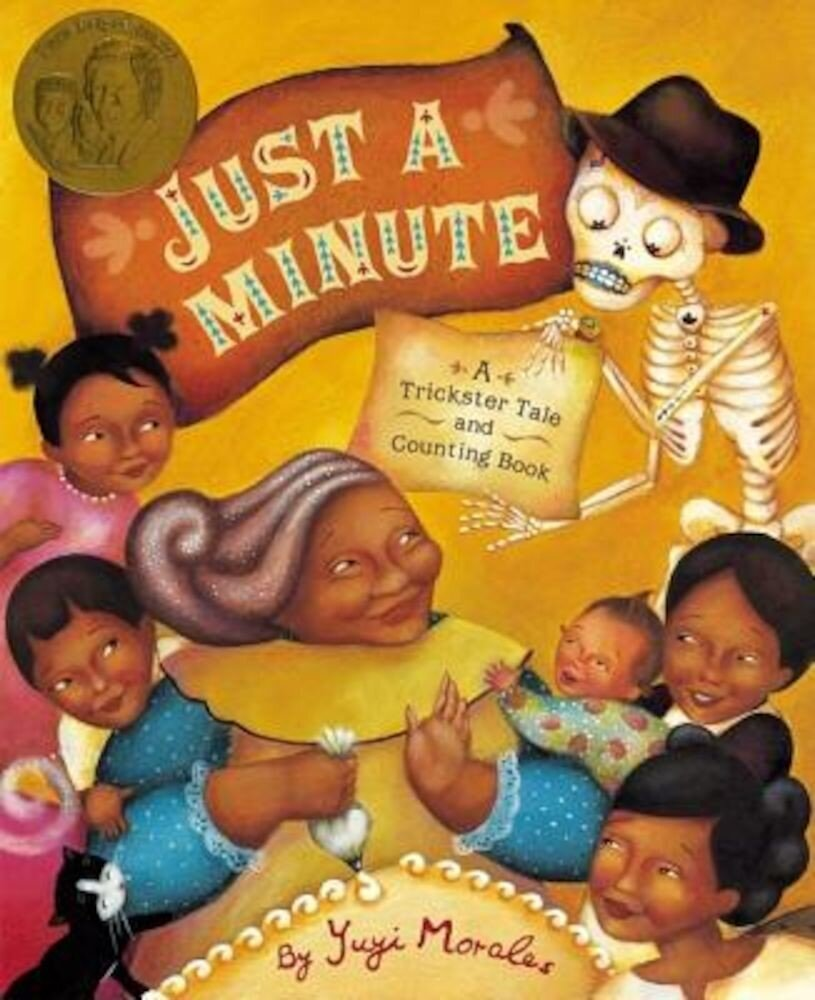 Just a Minute!: A Trickster Tale and Counting Book, Hardcover