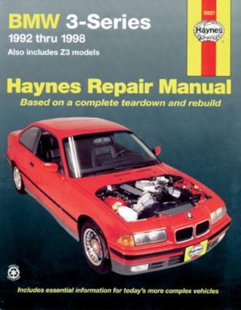 BMW Automotive Repair Manual 1992-1998, Paperback