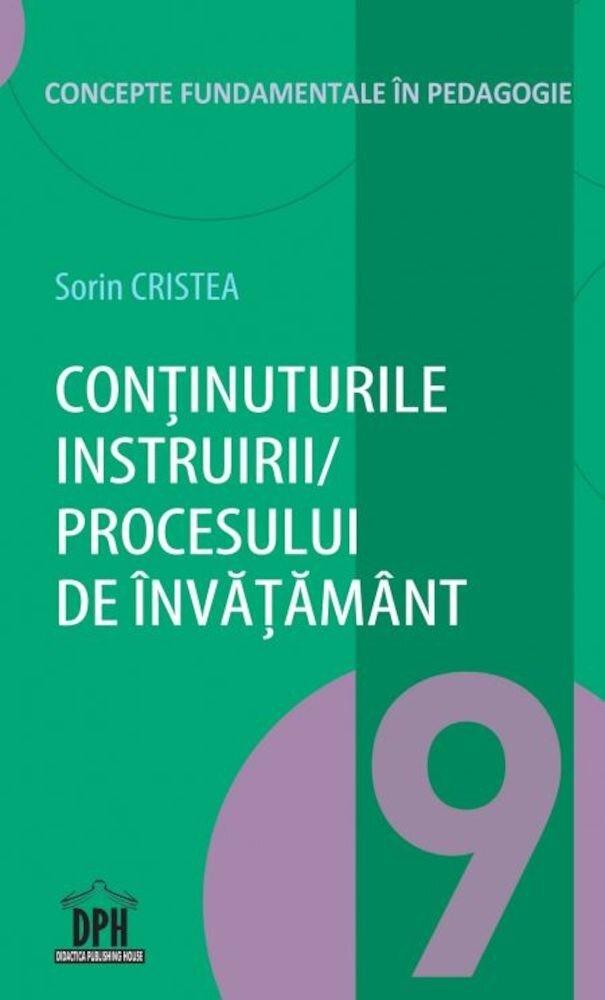Coperta Carte Continuturile instruirii, procesului de invatamant - vol 9