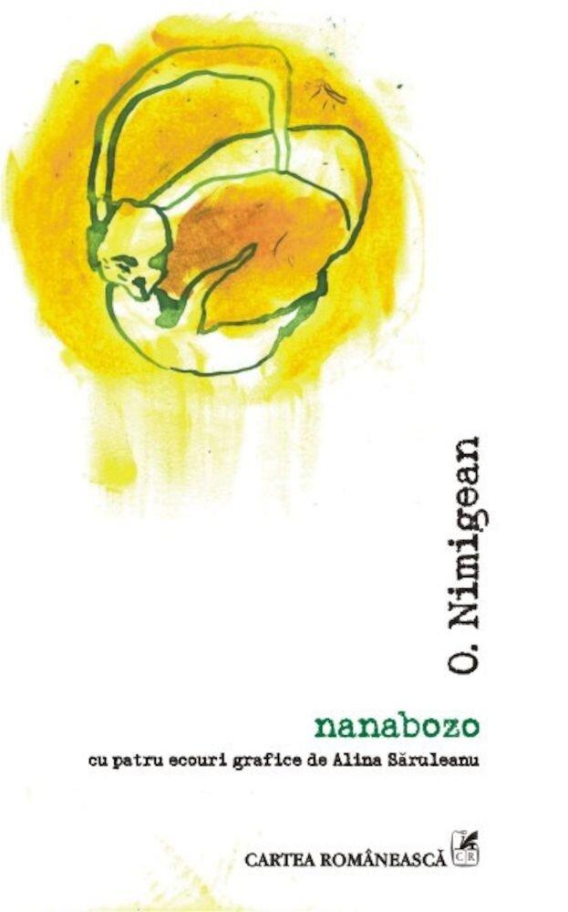 Coperta Carte Nanabozo. cu patru ecouri grafice de Alina Saruleanu