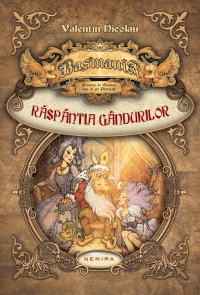 Coperta Carte Basmania: Raspantia gandurilor, Vol. 1