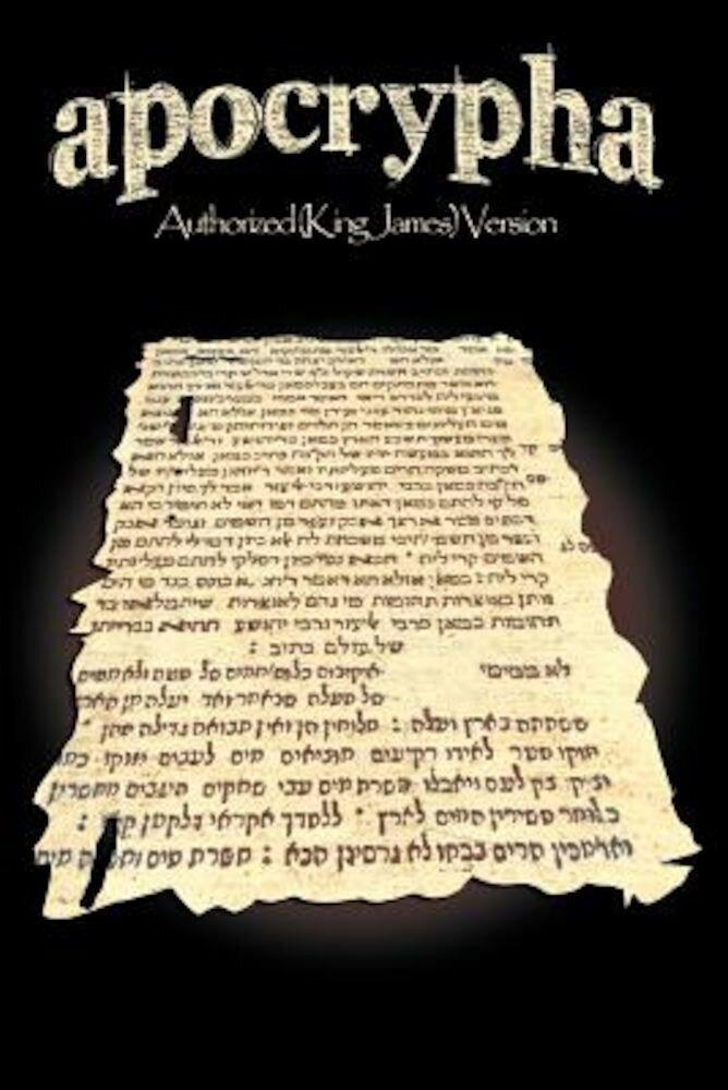Apocrypha-KJV, Paperback