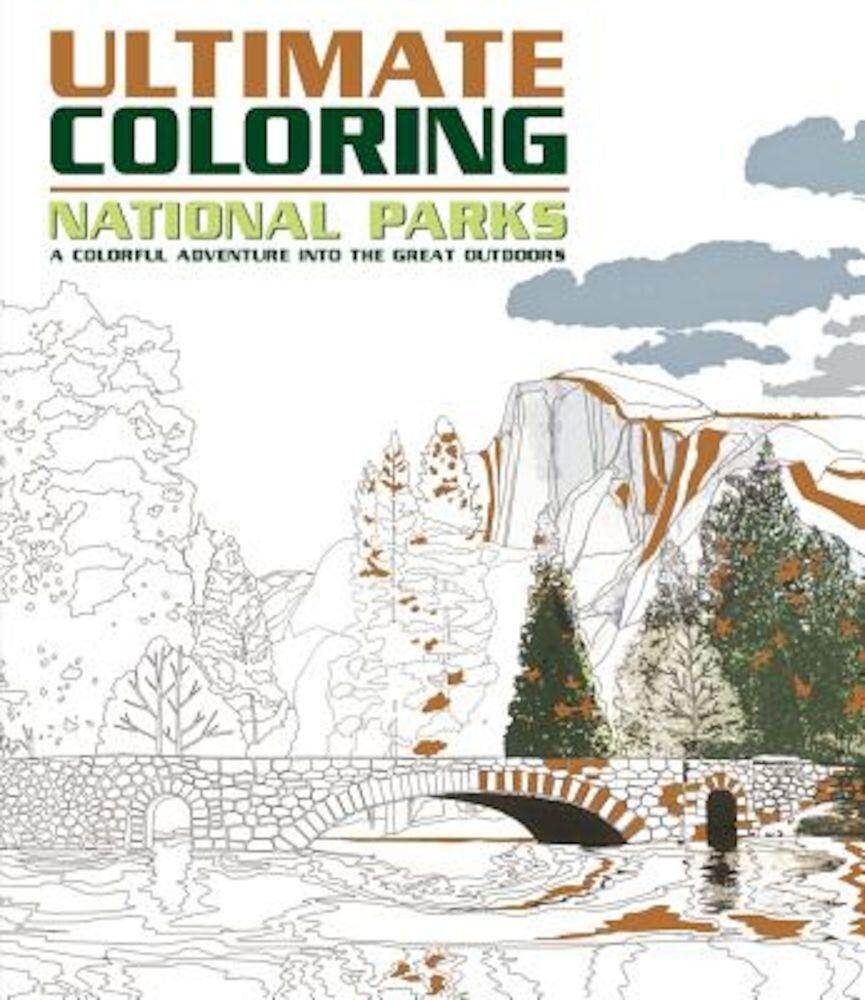 Ultimate Coloring National Parks, Paperback