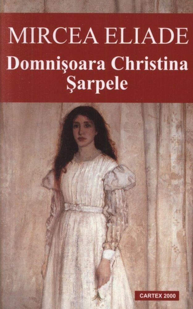Coperta Carte Domnisoara Christina. Sarpele