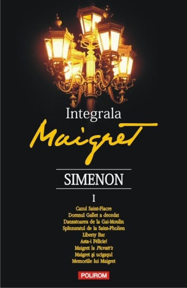 Integrala Maigret, Vol. 1