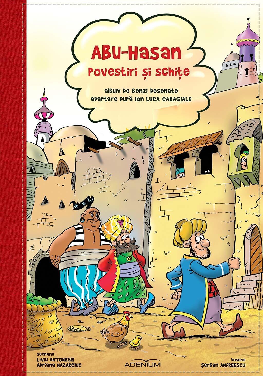 BD - Abu-Hasan. Povestiri si schite (eBook)