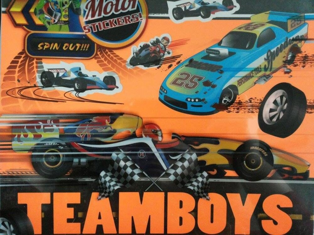 Teamboys Motor - Stickers