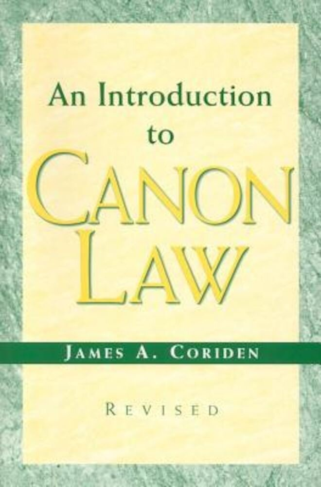An Introduction to Canon Law, Paperback