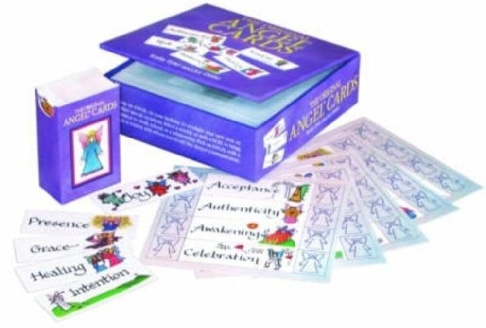 Original Angel Cards and Book Set: Inspirational Messages and Meidtations, Paperback