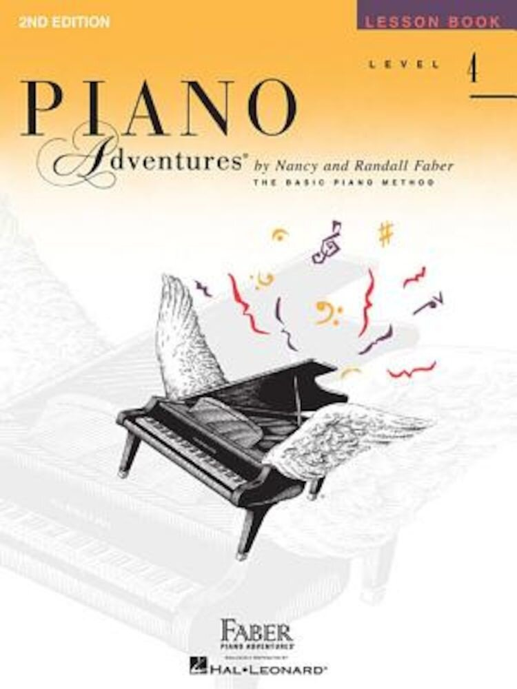 Piano Adventures, Level 4, Lesson Book, Paperback