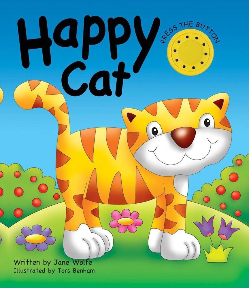 Noisy Book: Happy Cat