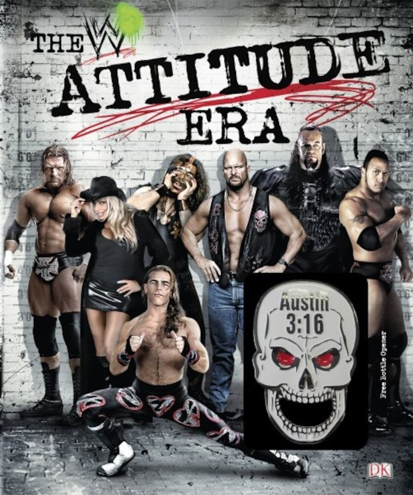 Coperta Carte The Attitude Era