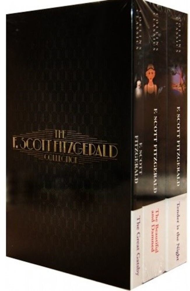 The F. Scott Fitzgerald Collection 3 Books Set