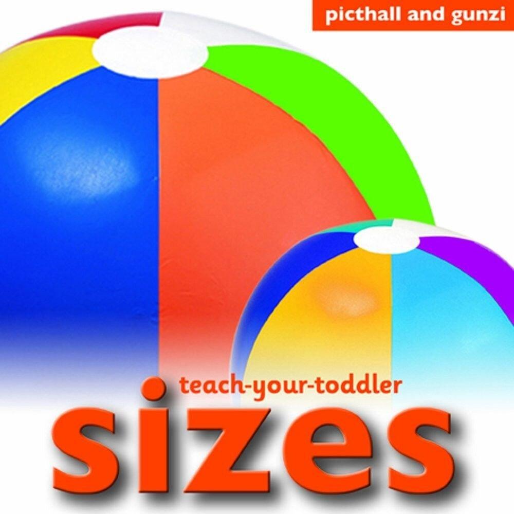 Coperta Carte Teach Your Toddler Board Books: Sizes