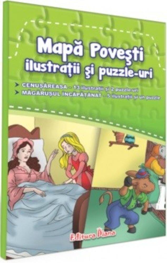 Mapa povesti-ilustratii si puzzle-uri - 1 - Cenusareasa