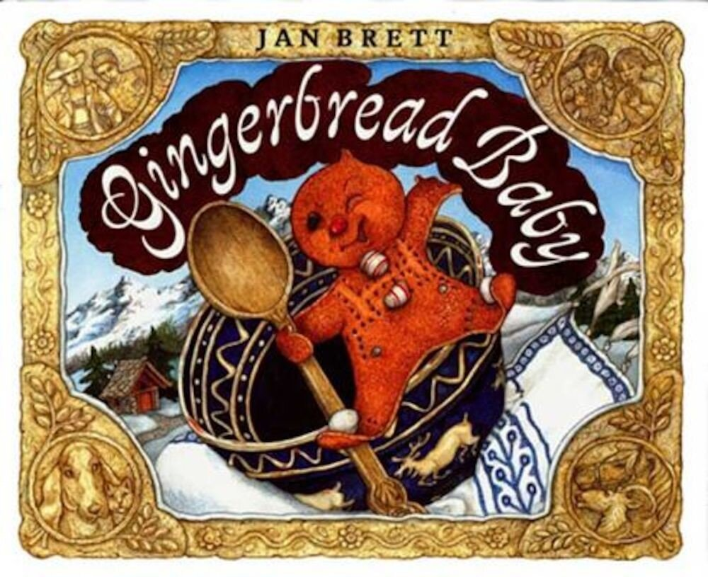 Gingerbread Baby, Hardcover