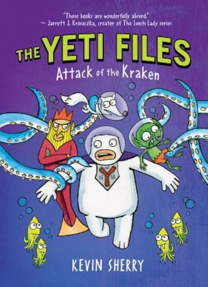 Attack of the Kraken, Hardcover