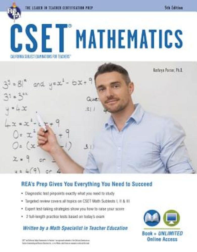 Cset Mathematics Book + Online, Paperback