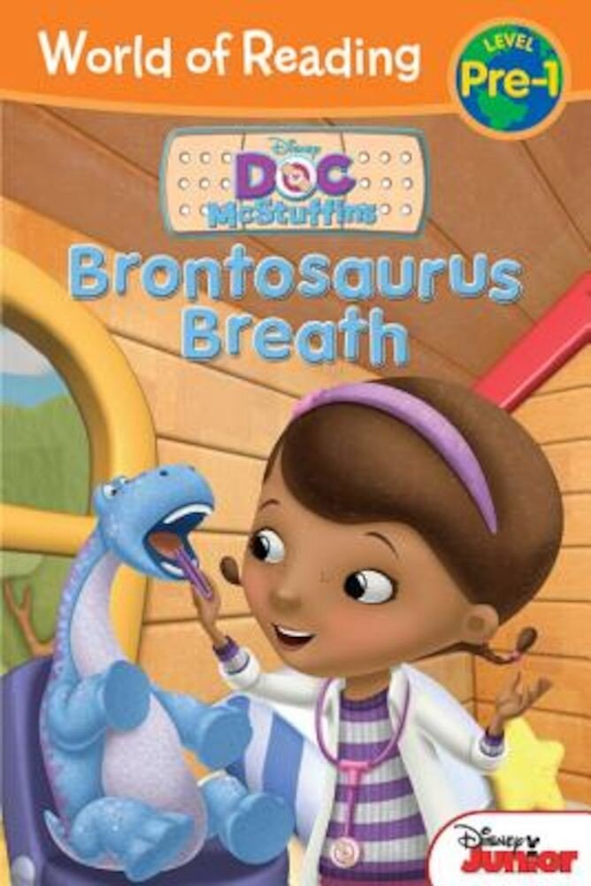Doc McStuffins Brontosaurus Breath, Paperback