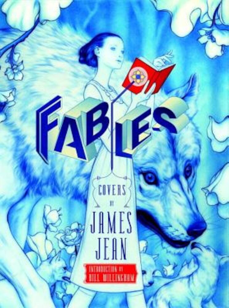 Fables Covers: The Art of James Jean (New Edition), Hardcover